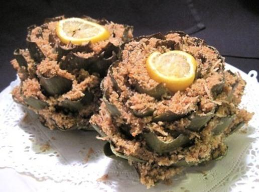 Italian Stuffed Artichokes Recipe