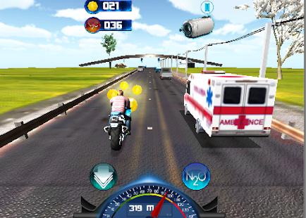 Racing Fever Rider Crime 3D screenshot