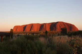 Photo: Year 2 Day 219 - Uluru at 6.30 ish