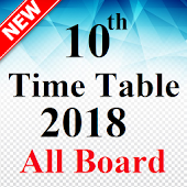 10th Time Table 2018 Date Sheet SSLC Results 2018
