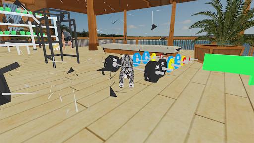 Kitten Cat Vs Six Pack Fitness Master in Gym screenshot 6