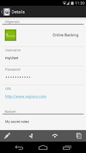 iPIN - Passwort Manager Screenshot