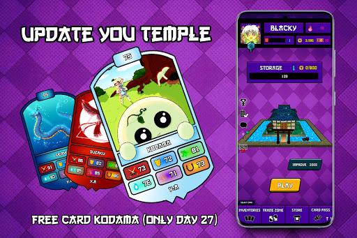 Yokai Alive Cards android2mod screenshots 1