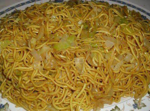 Chinese Fried Noodles! Need I Say More?