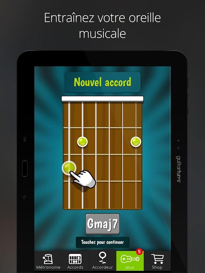 how to use guitar tuna app