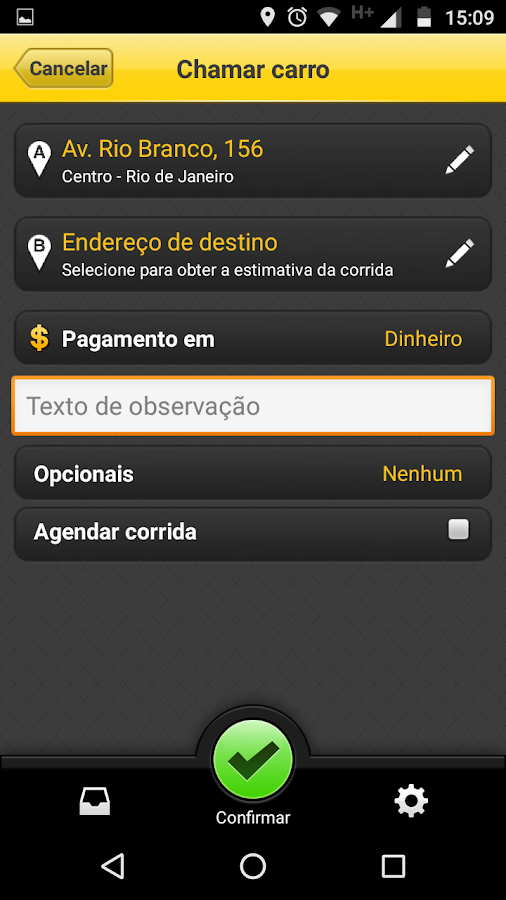 AHOBA TRANSPORTE EXECUTIVO- screenshot