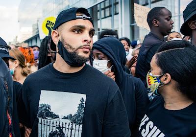 Speler van PSG gaat mee de straat op in manifestaties tegen racisme