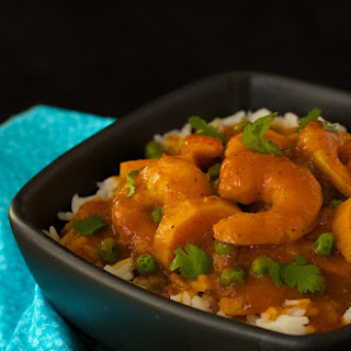 Shrimp and Sweet Potato Coconut Curry