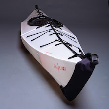Photo: FOR PERIPATETIC PADDLERS Anton Willis '99 grew up paddling on the lakes and rivers of rural Mendocino County, California, but a 2008 move to a city apartment forced his kayak into storage. Undaunted, the former architectural studies student used origami folding techniques to create prototypes of a kayak he could store at home. That led to his company, Orukayak. $1,095. Use code BRUNO for a 10% discount. orukayak.com (415) 321-3462