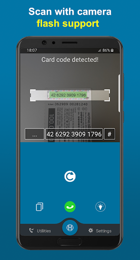 bbScan: Card Scan & Top Up your mobile card 4.1 screenshots 2