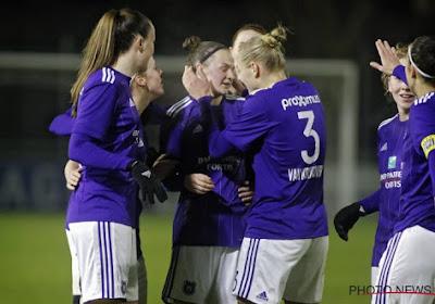 ? Anderlecht présente son fan shop... à l'aide de l'équipe féminine