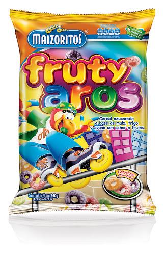 Cereal Maizoritos Fruty Aros 240Gr