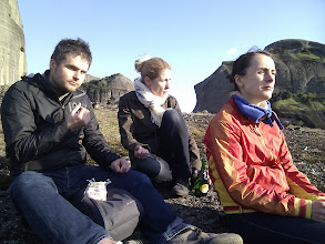 Photo: cheese and ritsina on top of a hill