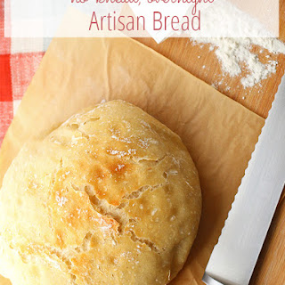 No-knead Overnight Artisan Bread