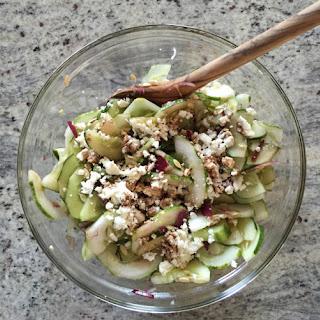 Cucumber + Feta Salad