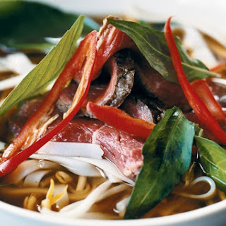 Fragrant Vietnamese beef noodle soup.