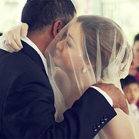 teary eye by Joemar Cabasan - Wedding Bride