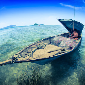 The Fisherman by Ambo Sakka Mappeasse - Transportation Other