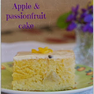 Apple And Passionfruit Cake