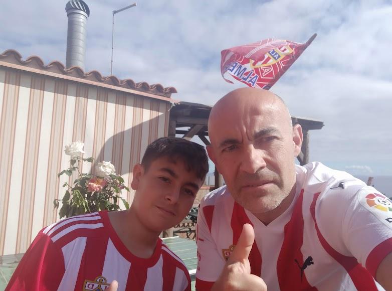 Pablo y Miguel Ángel Torres desde Tenerife.