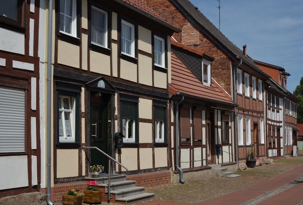 Fachwerkhäuser in Arendsee