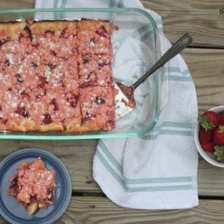 Strawberry Pink Velvet Gooey Bars