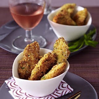 Parmesan Crusted Chicken Fingers.