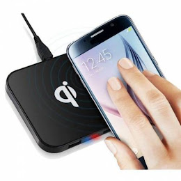 Incarcator Wireless Qi Charging Pad, USB Hub 2 porturi