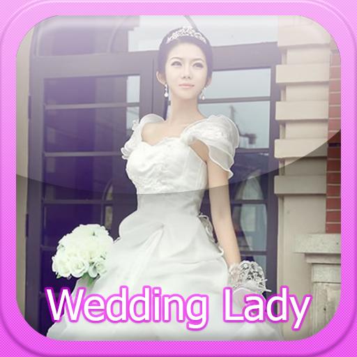 婚紗禮服的夫人 攝影 App LOGO-硬是要APP