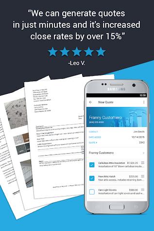 Invoice Maker & Simple Contractor Billing Estimate Screenshot