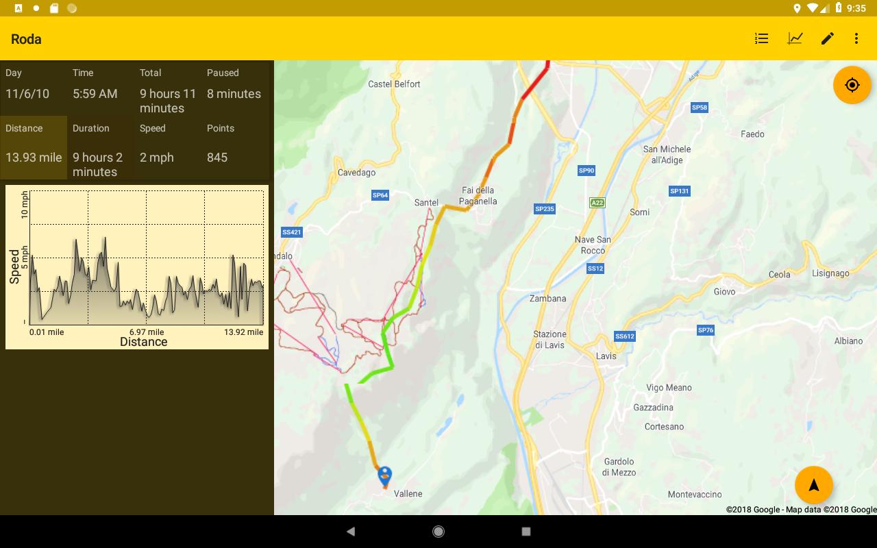 Open GPS Tracker screenshots