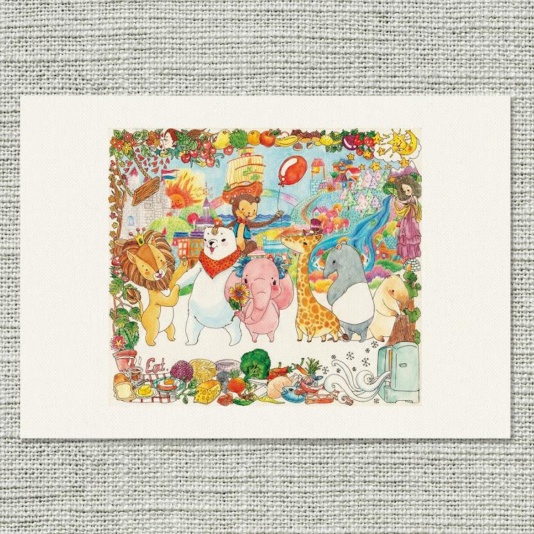 A3 Canvas Print【Libby】