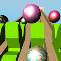 Marble ball 3D icon