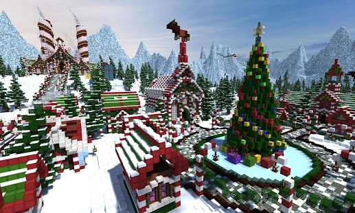 Map Christmas Flights for MCPE - náhled