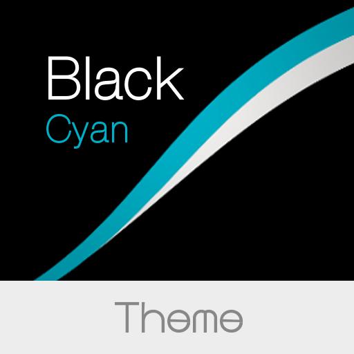 Black - Cyan Theme