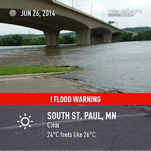 Photo: Instaweather is a handy app to capture date and weather conditions on top of a quick photo.