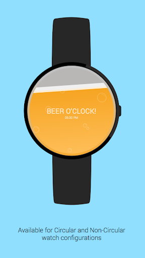 Beer O'Clock Watch Face