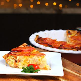 Maple Bacon Breakfast Pie