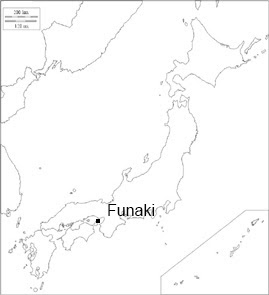 Location Map of Funaki Site