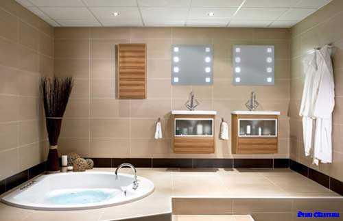 バスルームの装飾デザイン