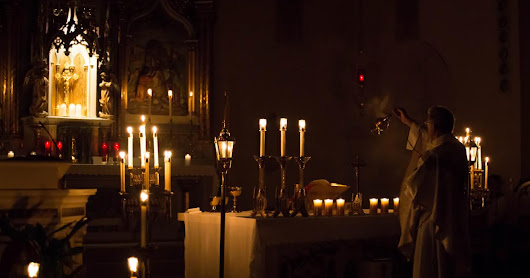 Young Adult Ministry — First Friday Candlelight Mass