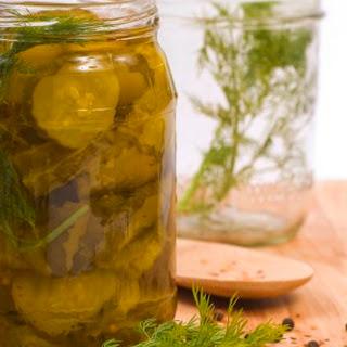 Making Salt Free Dill Pickles