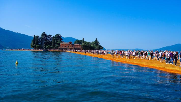 Floating Piers di Modna