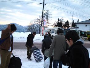 Photo: 夜行バスを使って朝に到着@赤湯