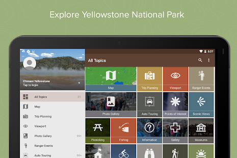 Yellowstone Ntl Park: Chimani- screenshot thumbnail