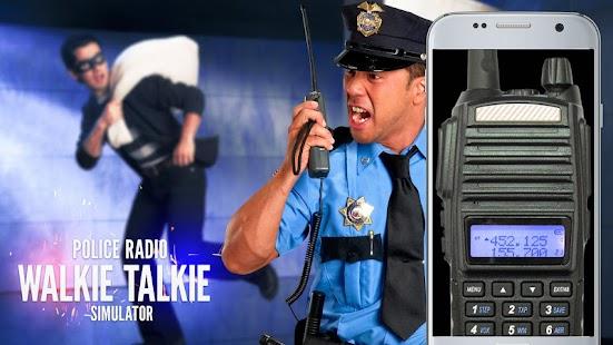Policejní rádio vysílačky - náhled
