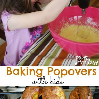 Popover Recipe – Food Fun Friday.