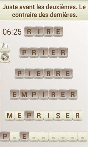Jeux de Mots en Français 1.17 screenshots 2