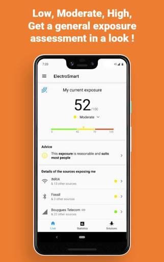 Free EMF Detector, EMF Meter screenshot 2