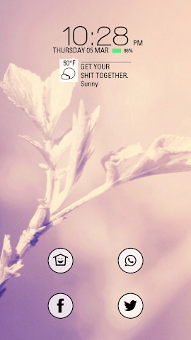 android Blooming Flower in Spring Screenshot 0